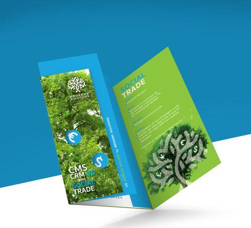 Social Trade : Leaflet